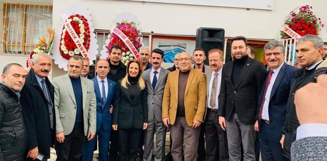 Çankaya Haymanalılar Derneği Hizmet Binası Açıldı