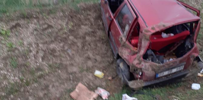 Feci Kazada Can Kaybı Olmadı!Yaralı Var