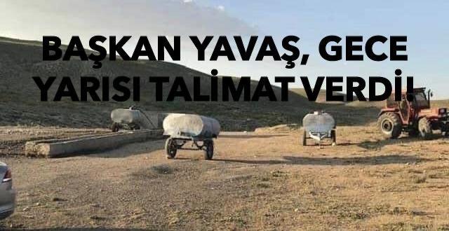 Başkan Mansur Yavaş'tan İvedi Talimat!