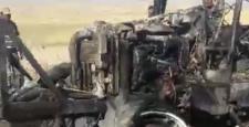 Traktör Alev Aldı!