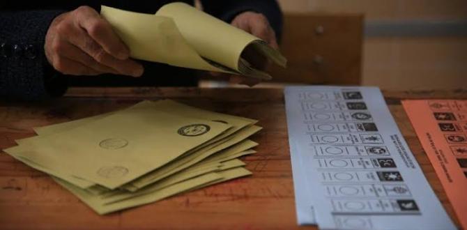 Seçim Kanunu Değişikliği İçin Hazırlıklar Tamamlandı!