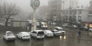 Haymana'da yeniden kar yağışı etkili oldu!